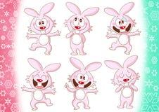Cute rabbits Royalty Free Stock Photos