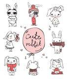 Cute Rabbits Stock Image