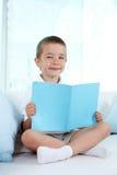 Cute reader stock image