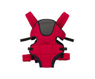 Cute red baby carrier Royalty Free Stock Image
