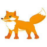 Cute red fox Stock Image