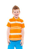 Cute red-haired boy Royalty Free Stock Photography
