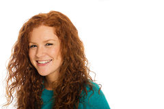 Cute redhead Royalty Free Stock Image