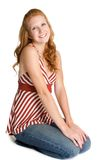 Cute Redhead Woman Stock Images