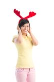 Cute reindeer Stock Photography