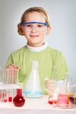 Cute researcher Royalty Free Stock Photos