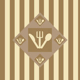 Cute restaurant background Royalty Free Stock Photography