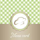 Cute restaurant menu card Stock Photo