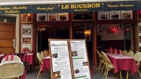 Wonderful Outdoor Parisian Restaurant royalty free stock photo