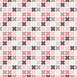Cute retro abstract floral seamless pattern Stock Image