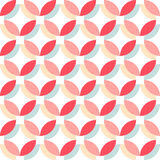 Cute retro abstract seamless pattern. Can be used for wallpaper, cover fills, web page background, surface textures. Pink, broun a Royalty Free Stock Photography