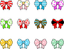 Cute ribbon collection Stock Image