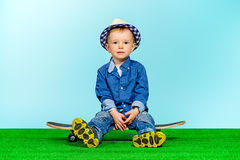 Cute rider Royalty Free Stock Photography