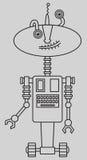 Cute robot Stock Photo