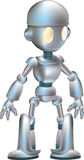 Cute Robot Stock Photo