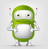 Cute Robot Royalty Free Stock Photography