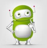 Cute Robot Royalty Free Stock Photos