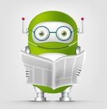 Cute Robot Stock Photography