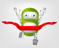 Cute Robot Royalty Free Stock Photos