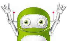 Cute Robot. Cartoon Character Cute Robot. Avatar. Vector EPS 10 Stock Image