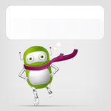 Cute Robot Stock Images