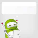 Cute Robot Royalty Free Stock Images
