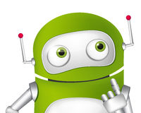 Cute Robot Stock Photography
