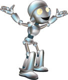 Cute robot illustration Royalty Free Stock Photo