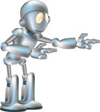 Cute robot illustration Stock Photography