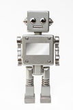Cute happy robot Stock Photo