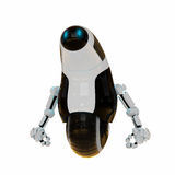 Cute robot on one wheel Royalty Free Stock Images