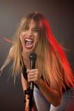 Cute Rock Star Stock Photo