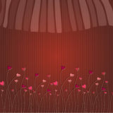 Cute romantic background Royalty Free Stock Photography