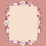 Cute romantic  background Royalty Free Stock Photos