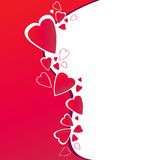 Cute romantic background Royalty Free Stock Image