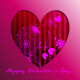 Cute romantic background Royalty Free Stock Photo