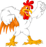 Cute rooster cartoon Stock Photo