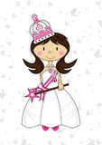 Cute Royal Fairytale Princess Royalty Free Stock Images