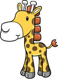 Cute Safari Giraffe Vector Royalty Free Stock Photography