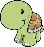 Cute Safari turtle Vector Illustration Stock Images