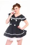 Cute Salior Girl Stock Photos