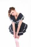 Cute Salior Girl Stock Photography