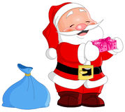 Cute Santa Royalty Free Stock Photo
