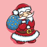 Cute Santa Stock Images