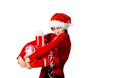 Cute Santa Stock Photography