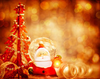 Cute Santa border Royalty Free Stock Image