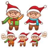 Cute santa boy Royalty Free Stock Photo