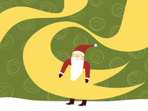 Cute Santa Claus Royalty Free Stock Photography