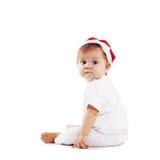 Cute Santa Claus baby Stock Photography