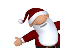 Cute Santa Claus Charicature Royalty Free Stock Photos